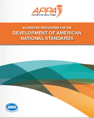 ANSI Standards Development Procedures cover page