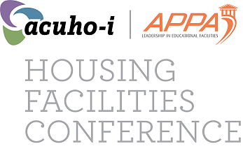 acuho-i, APPA logo Housing Facilities Conference