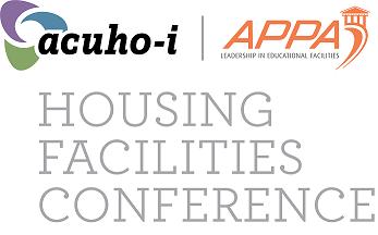 acuho-i, APPA logo Housing Facilities Conference