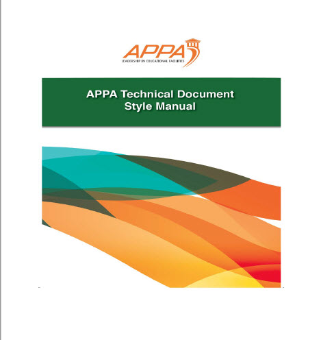 APPA Work Group Operating Procedures Cover Page