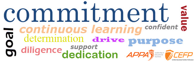 Commitment/Continuous Learning Word Jumble