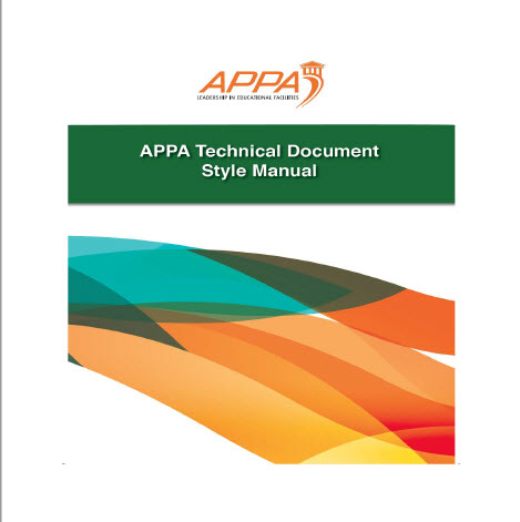 APPA Style Manual Cover Page
