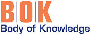 "APPA BOK (Body of Knowledge) logo. Letters ""BOK"" in orange with acronym spelled out beneath."