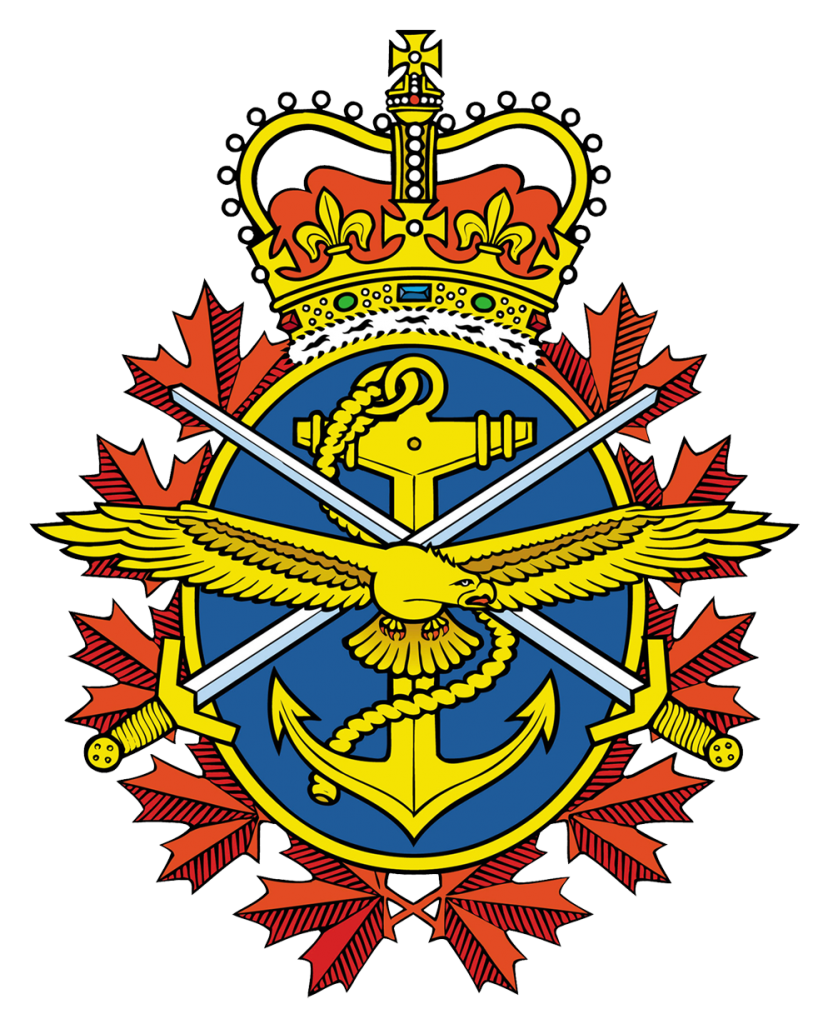 Image showing shield for the Canadian Armed Forces.