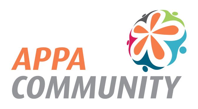 APPA Community Logo with flower image