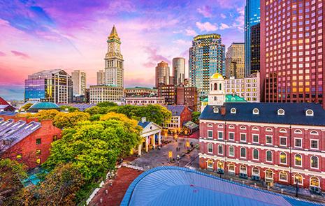 Boston skyline image