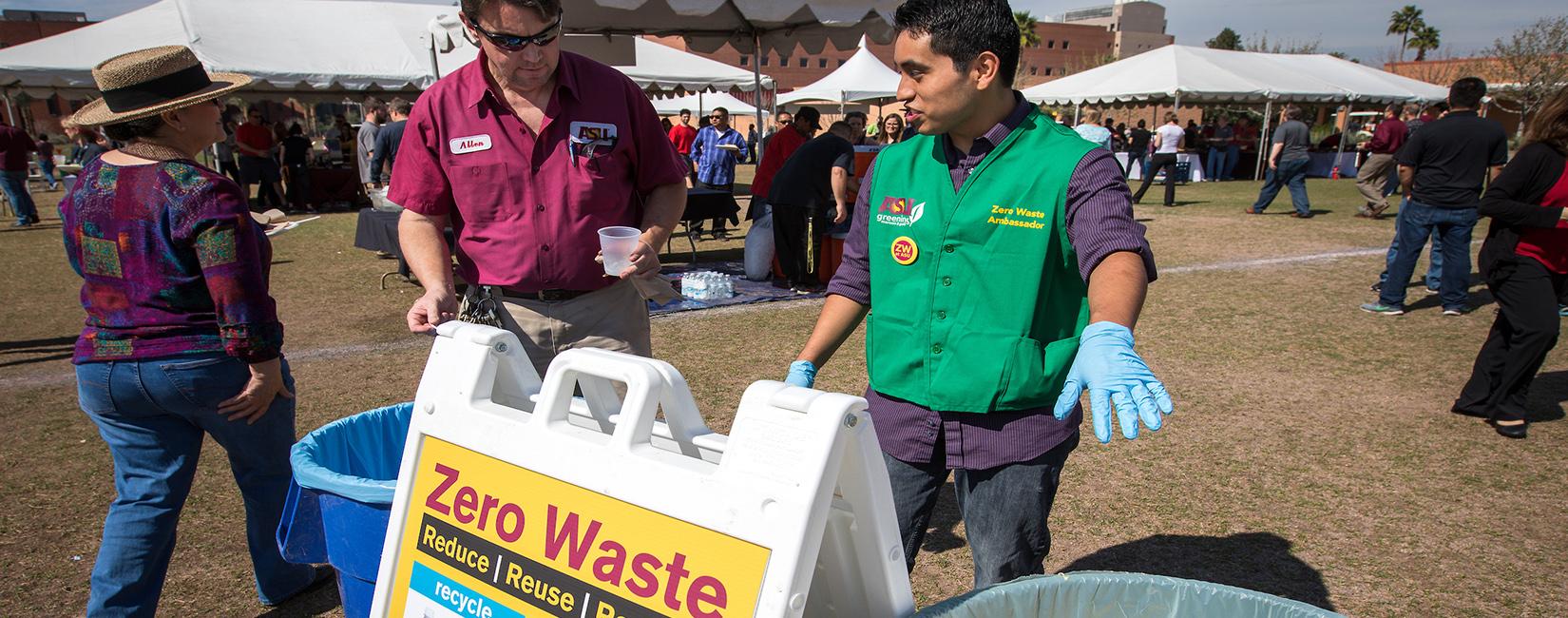 Arizona State University Zero Waste Home Page