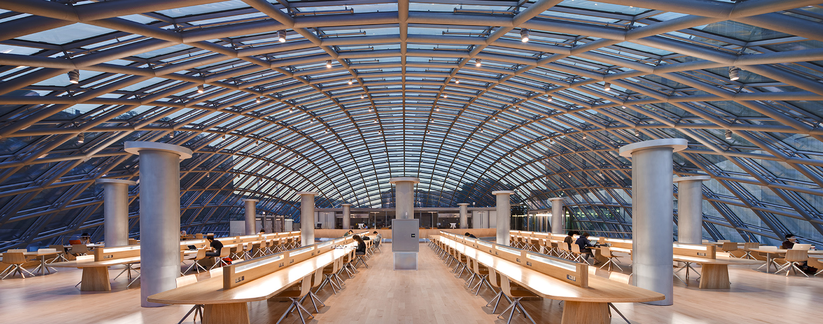 The University of Chicago Mansueto Library