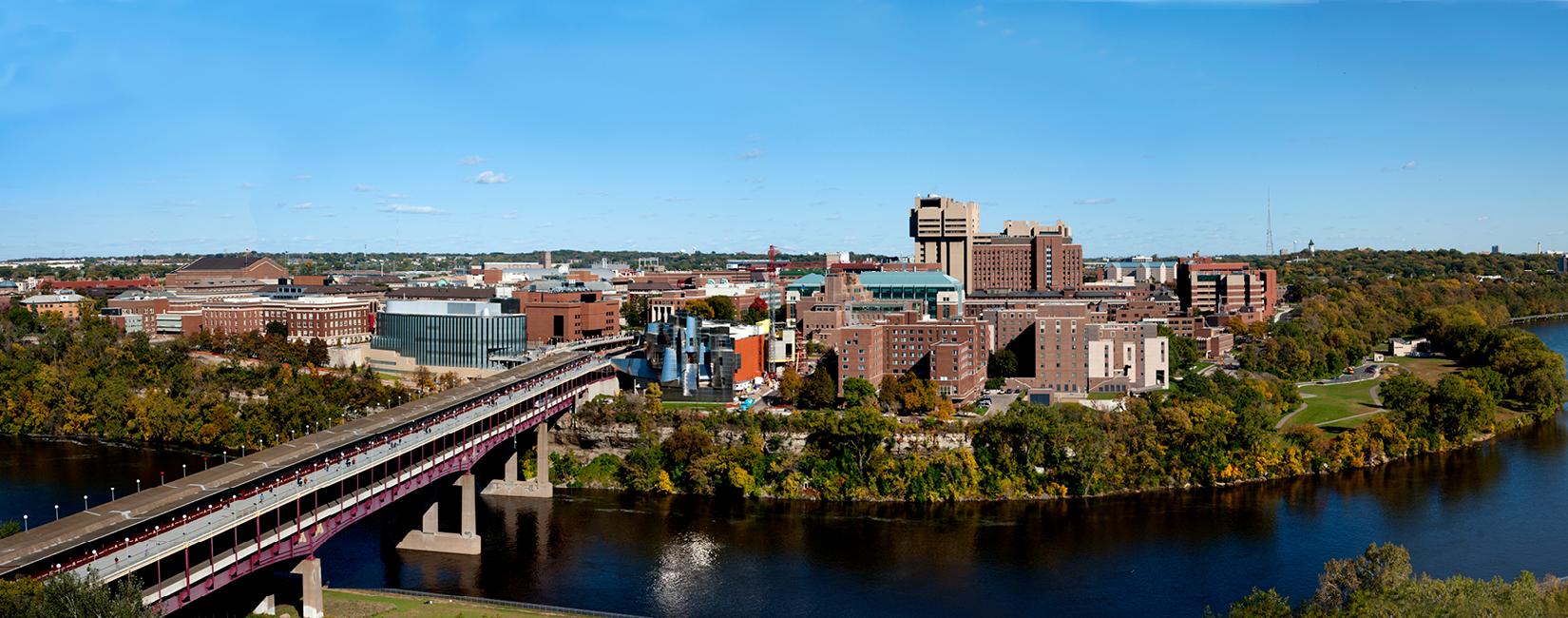 Panoramic View of University of Minnesota
