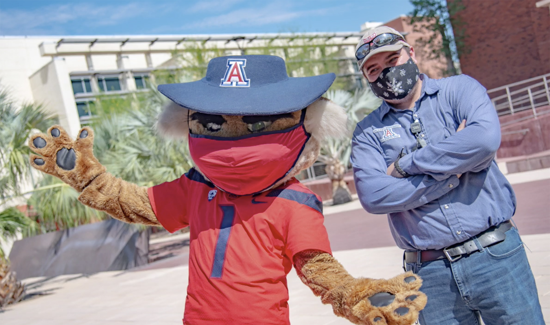 AU-staff-and-mascot