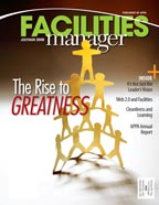 Facilities Manager Magazine - July/August 2008